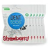 Zahnputztabletten Denttabs KIDS Strawberry (6x125Stk) Plastikfrei ohne Fluorid