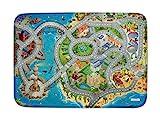Spielteppich Ultrasoft - Rutschfest 130 x 180 cm (130x180, Seaside / Küste 130x180)