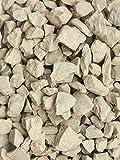 KH 1kg Deko Ziersplitt Kalk beige grau 8-16 mm (100g / 0,89€)