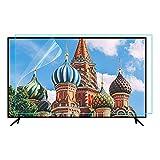 Anti Blaues Licht Fernseher Bildschirm Schutz, 32-75 Zoll Blendschutz Bildschirm Beschützer, Ultra klar Auge Ermüden Bildschirm Filter Lindern, zum LCD, LED, OLED & QLED 4K HDTV,32'(698×392)