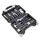 Amazon Basics - Werkzeug-Set für den Haushalt, 51 Teile