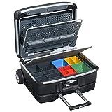 Service- & Montagekoffer Hemmdal - Werkzeugkoffer mit Rollen leer - Alu-Rahmen