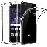 Easyacc Huawei P8 Lite 2017 Hülle Case, Crystal Ultra Dünn Crystal Clear Transparent Handyhülle Cover Soft Premium-TPU Durchsichtige Schutzhülle Backcover Slimcase für Huawei P8 Lite 2017