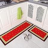 JJYGXYG Fußmatte für Küche, Bad, Eingangsbereich, saugfähig, für Schlafzimmer, Wohnzimmer, Farbe: 07, Größe: 40 x 60 cm