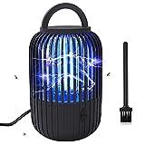 SUPCHON Elektrischer Insektenvernichter, Insektenfänger mit Zwei LED UV-Röhren zu je 6 Watt ausgestattet, Fliegenfalle UV-Licht mit Einer Wellenlänge von 365 Nanometern abgeben Mückenlampe