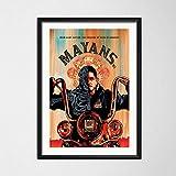 daerduotutu Hot Mayans Mc Hot TV Serie Show Saison Benutzerdefinierte Kunst Malerei Vintage Leinwand Poster Wand Wohnkultur A212 50×70CM Ohne Rahmen