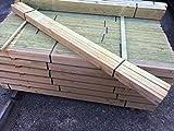 Holzlatten 20 Stück 1 Meter lang 30x50x1000mm Dachlatten Bauholz L