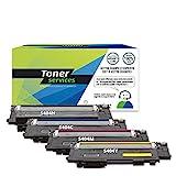 Toner Services – kompatibel mit Samsung CLT-P404C Pack 4 Toner Schwarz und Farbe (SU365A)