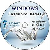 Zurücksetzen, Wiederherstellen und Entfernen von Software für Windows-Kennwort für Windows 10, 8, 7, Vista, XP