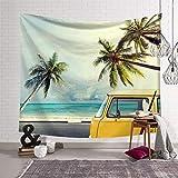 KHKJ Strandteppich Dünne Ozeanwand Hängende Picknickmatte Decke Thema Hotel Schlafzimmer Dekorieren Wohnraum Dekor A5 230x180cm