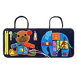 ampusanal Activity Board Für Kinder Spielzeug, Frühpädagogische Lernspielzeug Für Lerne Grundleben Kleidungsfähigkeiten, Beschäftigtes Brett Für Kleinkind Advantage