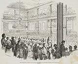 H. W. Fichter Kunsthandel: KRETZSCHMAR, Das Ballett im Tivoli zu Leipzig, 1847, Holzstich