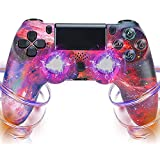 Wireless Controller for PS4, Game Controller für PS 4, Remote Controller Gamepad Touch Panel Joypad Kompatibel mit PS4/ Slim/Pro