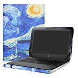 Alapmk Schutz Abdeckung Hülle für 11.6' HP Stream 11 Pro G5/G4/G3/G2/G1/11-ahXXX/11-rXXX/11-dXXX/11-yXXX Series Laptop(Nicht fit HP Stream x360 11),Starry Night