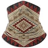 Jopath Western Arrow Southwest Indianer Gesichtsmaske, staubdicht, winddicht, Schal, wiederverwendbar, atmungsaktiv, für Angeln, Wandern, Laufen, Radfahren, mit 2 Filter