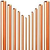 Qualitäts KUPFERROHR Stangenware halbhart  10mm bis 35mm  Länge 0,25m bis 2m  Wunschlänge einfach auswählen  28 mm x 1,0 mm | 1