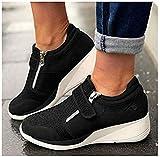 Comfy – Elegante orthopädische & extrem weiche Schuhe (EU39, schwarz)