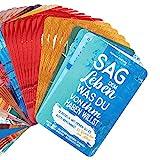 Motivationskarten für jeden Tag - Sag dem Leben, was du von ihm haben willst – Karten ziehen für mehr Erfolg und Glück im Leben --- Verwendbar als: Achtsamkeitskarten / Sprüche Karten / Glückskarten