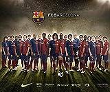 PosterHub Barca Barcelona La Liga Messi FC Barcelona Poster, matt, Papier, 30,5 x 45,7 cm, mehrfarbig F-1070
