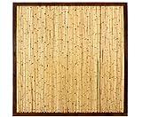 bambus-discount.com Bambuswand KohSamui Klassik 180x180cm, dunkler Rahmen mit Bambusrohr Füllung Sichtschutzwand Sichtschutzelement Sichtschutz Gartenzaun Zaunelement Sichtschutzwände Gartenzäune