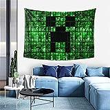 Min-Ecr-Aft Wanddekoration, Wandteppich, exklusiver Wandbehang, Mehrzweck-Wandhintergrund Decke für Wohnzimmer, Schlafzimmer, Einheitsgröße
