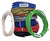 Aderleitung - Einzelader flexibel - PVC Leitung - H07V-K 2,5 mm² - Farbe: schwarz 10m/15m/20m/25m/30m/35m/40m/45m/50m/55m/60m bis 100 m frei wählbar