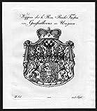 Wappen des h. Röm. Reichs Fürsten von Grafsalkovis in Ungarn - Grassalkovich Ungarn Hungary Wappen Adel coat of arms heraldry Heraldik Kup