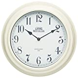 Kitchen Craft 25,5 cm, Living Nostalgia innen Wall Clock, Antique C