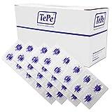 Offenlegung von Tabletten ~ Set mit 40 ~ zweifarbigen Plaqsearch-Kautabletten zeigen Plaque auf den Zähnen