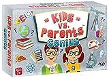Perfekter Spaß für Kinder, Familienspiel, Kinder vs. Eltern, Genie, Familienkartenspiel, intelligentes Spiel.