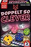 Schmidt Spiele 49357 Doppelt so clever, Würfelspiel aus der Serie Klein & Fein, b