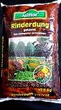 12,5 Kg Allflor Rinderdung Naturdünger Gartendünger Rindermist
