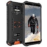 OUKITEL WP5 Pro Outdoor Handy, 4G Dual SIM IP68 Outdoor Smartphone Ohne Vertrag, 8000mAh Akku, 4GB + 64GB, Android 10 Handy Global Version 5,5 Zoll Triple Kamera, Face/Fingerprint ID (Orange)