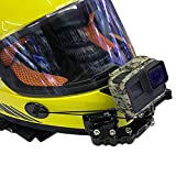 Selbstklebend Stick Full Face Helm Kinn Halterung für GoPro Hero 3+ 456Action Kamera und SJ4000Cam Motorrad Road Racing Halterung