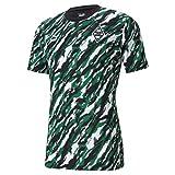 Puma Borussia M´Gladbach Iconic MCS Graphic Tee grün Mönchengladbach Fan Shirt, Größe:XXL