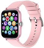 DSY Frauen Armbanduhr Smart Watch Smart Fitness Tracker Sportwache Smartwatch Smart Armband Health Activity Tracker Unterstützung Mehrerer Sprachen S