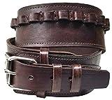 Modestone 44/45 Cal High Ride/Rise Handmade Leather Pistolengürtel *NO Holsters* 42