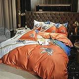 Cactuso bettbezug 200x200 Baumwolle,Homextilien, Viererpackung, Frühling, Wohnbett, Einzeleiseide bettlaken 140/200 Baumwolle