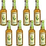 Fruchtwerker | Apfel& Essig | Mit Saft aus echten Früchten| 8er Pack | 8x 250ml Glasflasche
