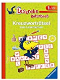 Kreuzworträtsel zum Lesenlernen (1. Lesestufe), grün (Leserabe - Rätselspaß)