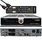 OCTAGON SF2028 Twin HD 3D Optima - Kabel Twin Tuner, PVR Festplattenreceiver, BlindScan, Timeshift, Media-Server, USB, 1x CI + 1x Kartenleser, HDMI-Kabel (2X DVB-C Tuner, Silber ohne HDD)
