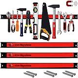 Deuba 3x Magnetleiste Set 45cm 23kg Tragkraft inkl. Montagematerial Werkzeugleiste Messerleiste Werkzeughalter Werkstatt