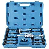 FreeTec Innenlager Abzieher Grundloch Lagerabzieher Werkzeug 16 TLG mit Gleithammer S