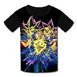 maichengxuan T-Shirt Kurzarm Kinder T-Shirt Yu-Gi-Oh Sport T-Shirt für Mädchen Jungen