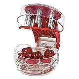 Cherry Stoner Entferner Multi Cherry Pitter Cherry Stein Samen entfernen Kern einfach mit Griff drücken 6