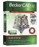 Becker CAD 11 3D für Windows 10 8 7   Cad-Software für Architektur, Maschinenbau, Modellbau und Elektrotechnik   3D CAD Programm kompatibel mit Autocad