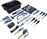 BGS 70224 | Werkzeug-Tragekasten | Kunststoff | inkl. Werkzeug-Sortiment | 66-tlg