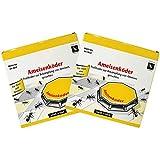 com-four® 8X Ameisenköder-Dosen, zur zuverlässigen Ameisenbekämpfung