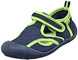 Playshoes Jungen Unisex Kinder UV-Schutz Sandale Aqua Schuhe, Blau (Marine/Grün 787), 24/25 EU