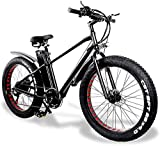 E-Bike Mountainbike Electric Snow Bike, 26-Zoll-Mountainbike 48V500W Elektrische Fahrrad Aluminiumlegierungsrahmen 21 Geschwindigkeit Falten 15ah 20A Lithium-Batterie 150kg City Bike Maximale Geschwin